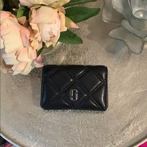 Marc Jacobs black quilted Wallet